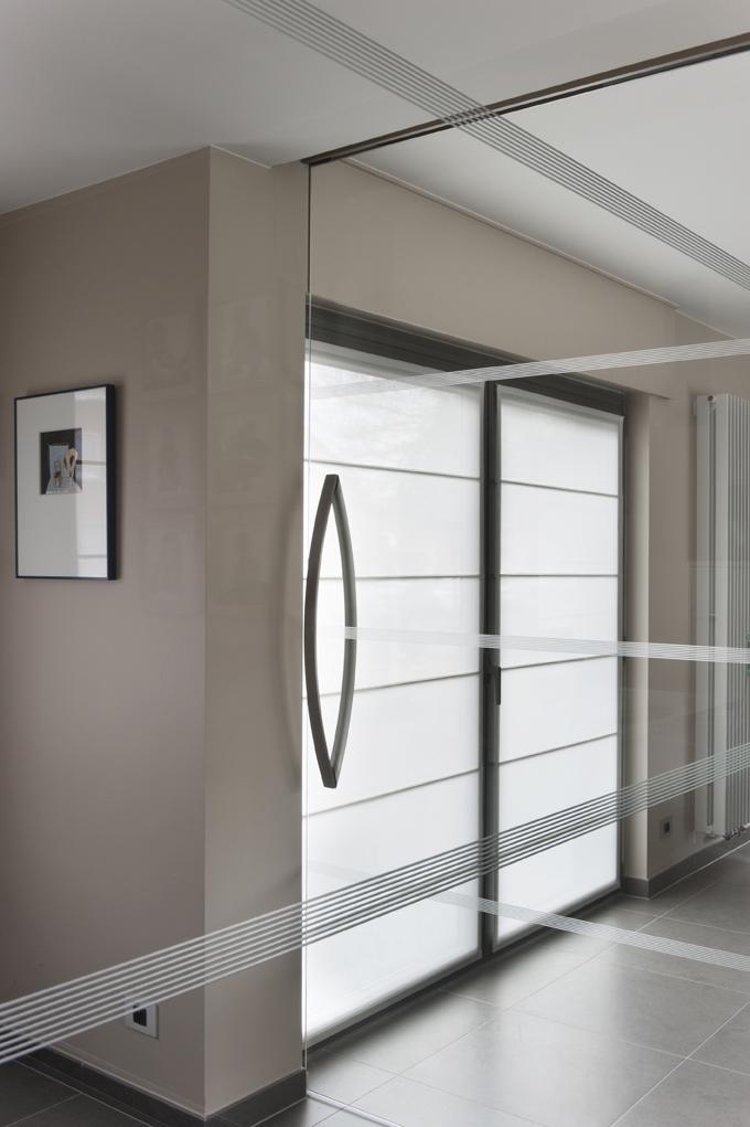 Glazen deuren met details 04