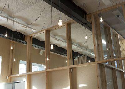 Topglass geluidswerend glas helder houten kader 02