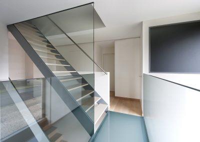 Topglass glazen loopstructuur gaanderij in glas balustrade veiligheidsglas 01