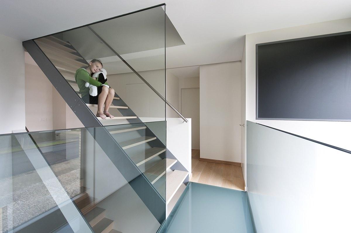 Topglass glazen loopstructuur gaanderij in glas balustrade veiligheidsglas 02