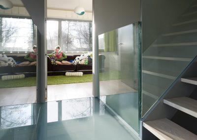 Topglass glazen loopstructuur gaanderij in glas balustrade veiligheidsglas 03
