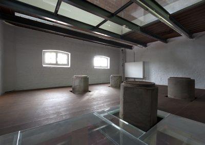 Topglass loopglas veiligheidsglas openbaar museum