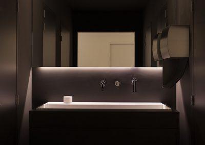 Topglass maatspiegel toilet wastafel