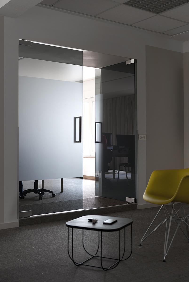 zwarte dubbel deur in glas 03