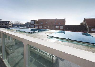 Topglass dakbeglazing vanceva gekleurd glas veiligheidsglas gelaagd